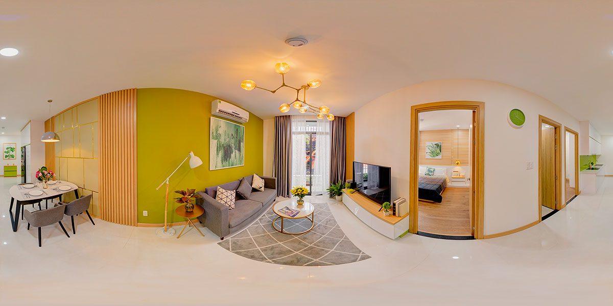 Dịch vụ chụp ảnh 360 độ cho nhà mẫu nội thất